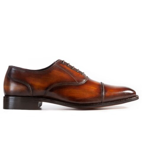 Peter_Hunt_Oxford_Toe_Cap_Shoes_Cognac_1