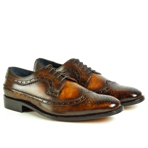 picasso-brown-tan-derby-patina-shoes-peter-hunt_2