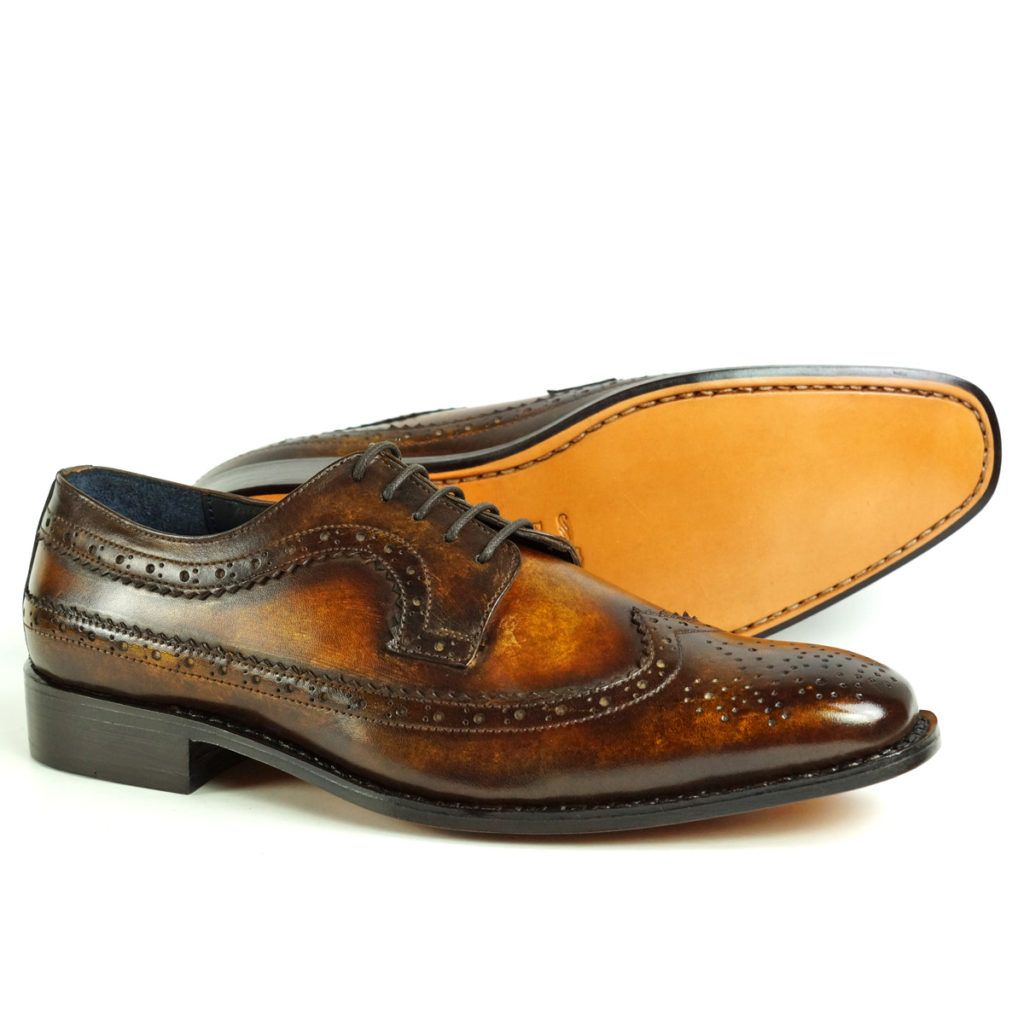 picasso-brown-tan-derby-patina-shoes-peter-hunt_3