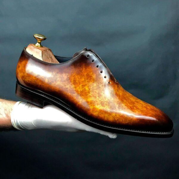 Peter-Hunt_Mens_Designer_Dress_Shoes_Patina_Cognac