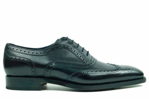 Mens Brogue Shoes Black