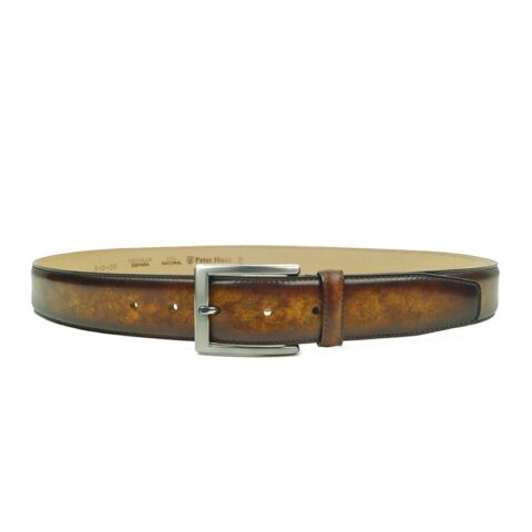 Cognac Leather Belts for Men