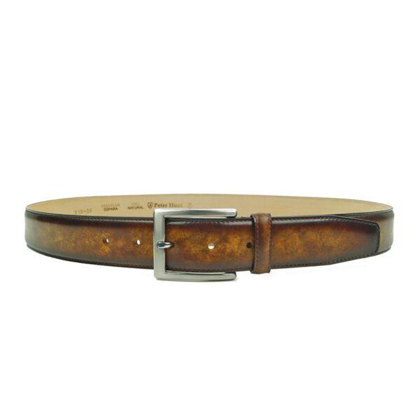 Cognac Leather Belts for Men