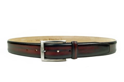 Wine Leather Belts for Men