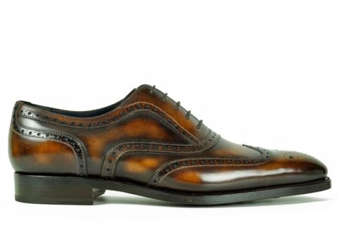 Mens Brogue Shoes Brown