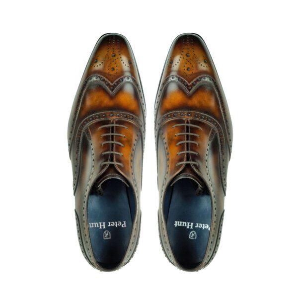 Mens Brogue Shoes Brown