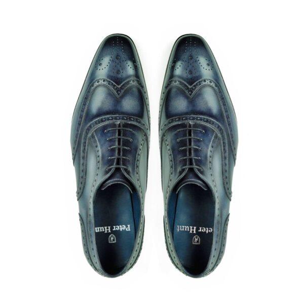 Mens Brogue Shoes Grey