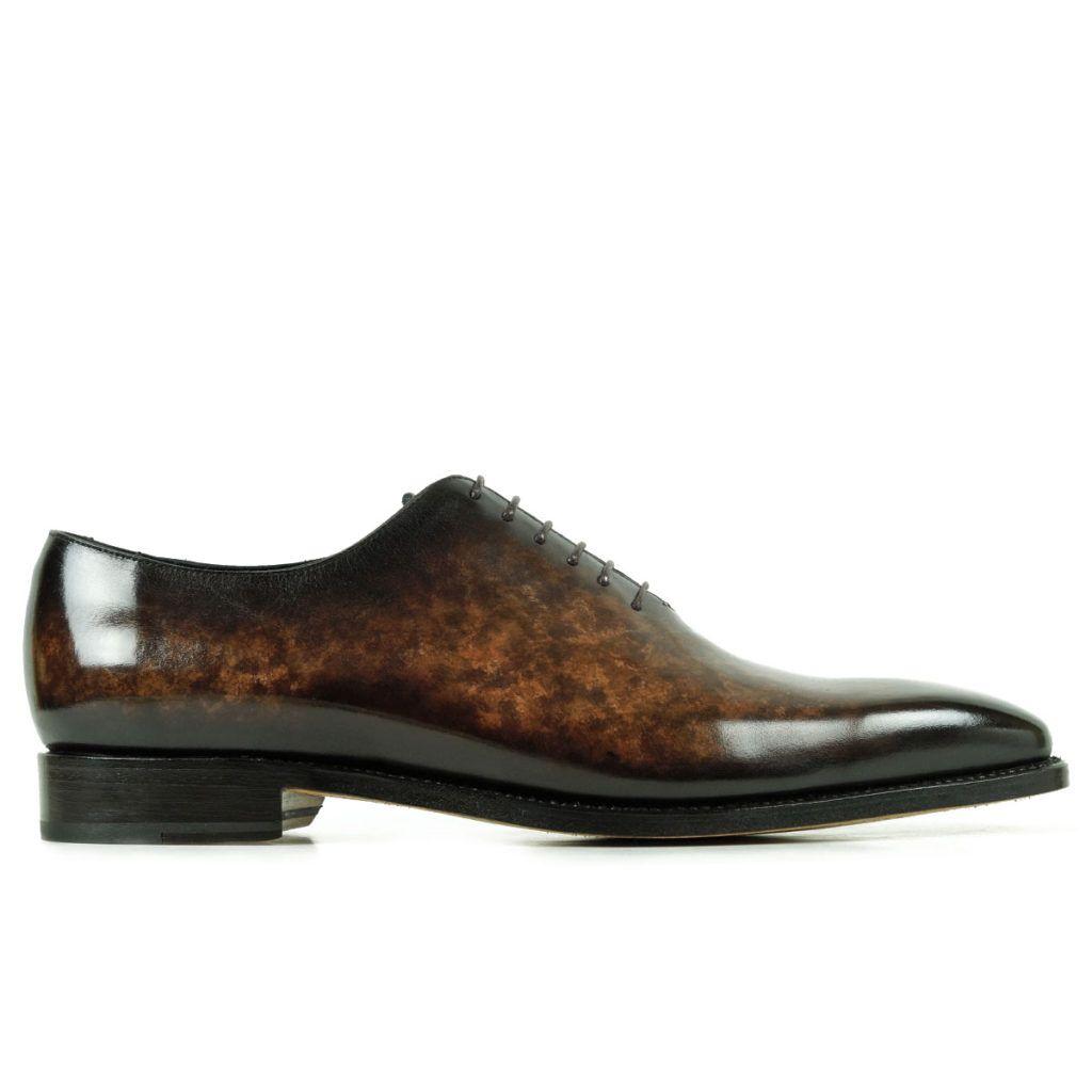 Mens Designer Dress Shoes Brown - Peter Hunt