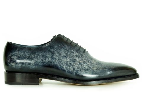 Mens Designer Dress Shoes Grey - Peter Hunt