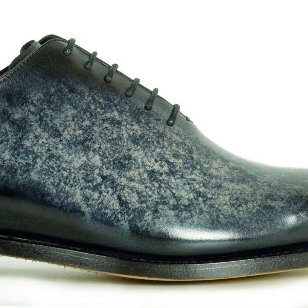 Mens Designer Dress Shoes Grey - Peter Hunt