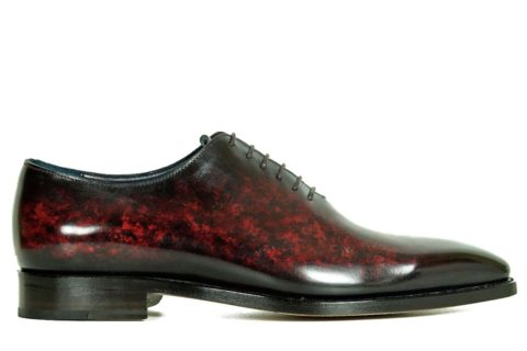 Mens Designer Dress Shoes Wine - Peter Hunt