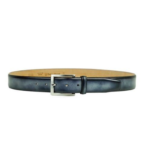 Grey Leather Belts for Men