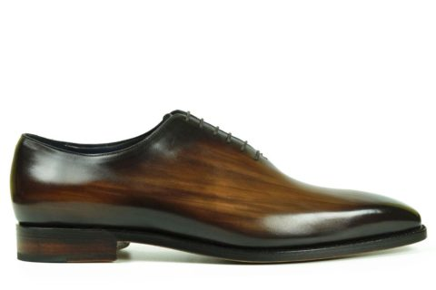 Mens Designer Dress Shoes Brown - Peter Hunt