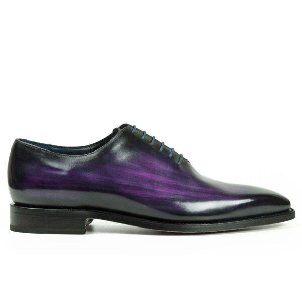 Mens Designer Dress Shoes Purple - Peter Hunt