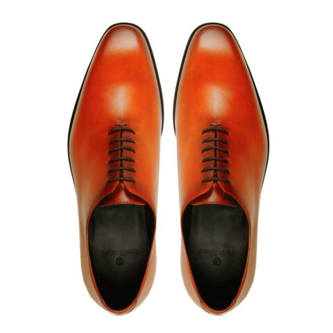 Goodyear Welted Cognac Shoes