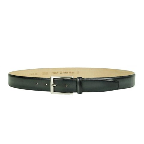Men's Grey Leather Belt