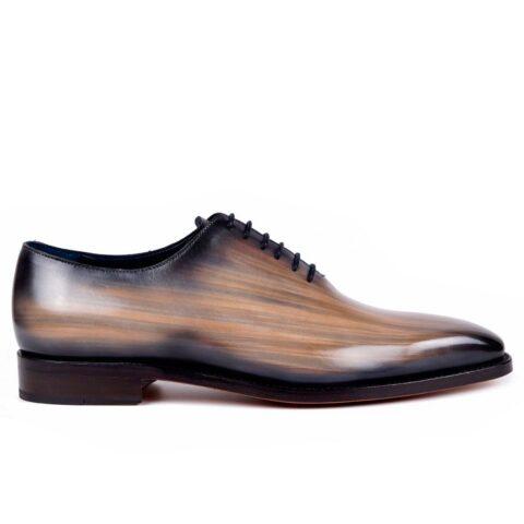 Mens Designer Dress Shoes Taupe - Peter Hunt