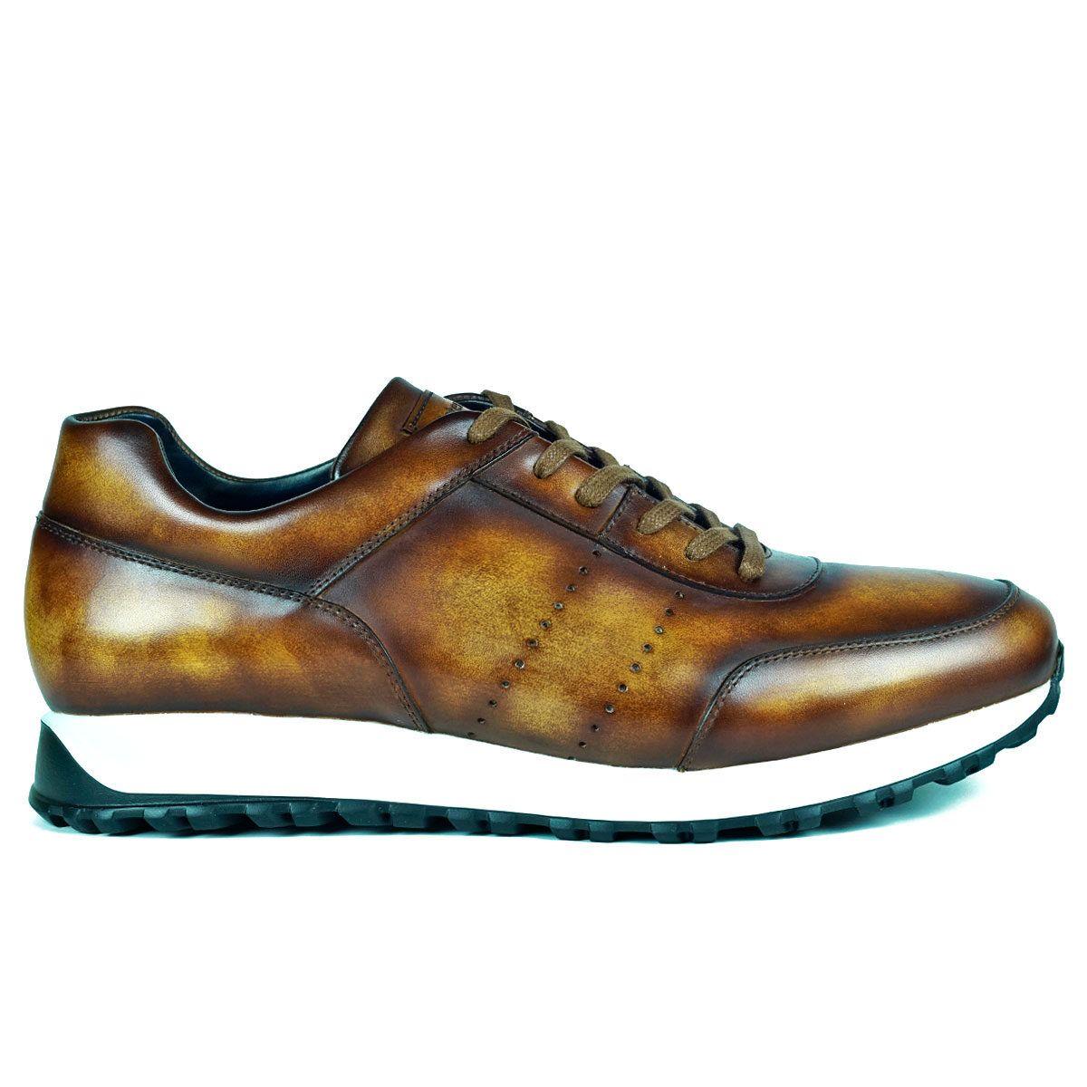Mens Light Brown (cuero) Sneakers Shoes